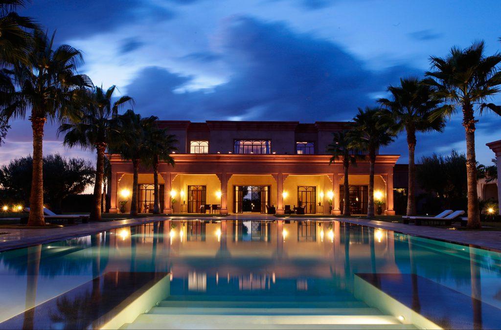 Photo villa marrakech