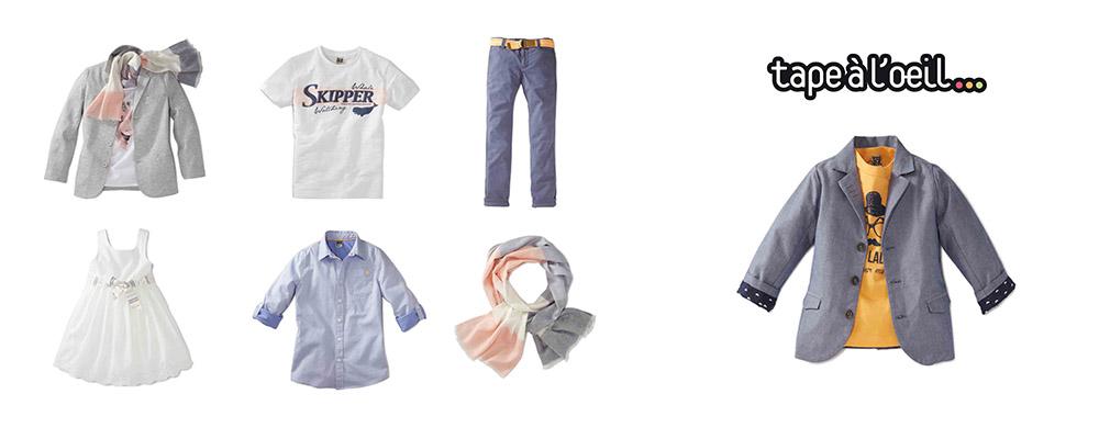 Photo Packshot textile enfant