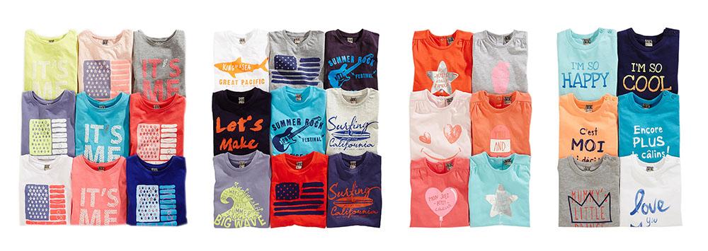 Packshot textile enfant