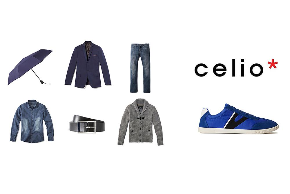 Packshot Célio homme